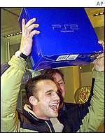 A happy Playstation 2 customer
