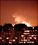 Nato bombing in Yugoslavia