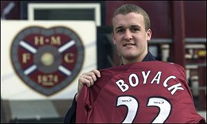 Steven Boyack is finally ready to start his Hearts career