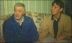Raymond and Mary Miskelly are traumatised by the news