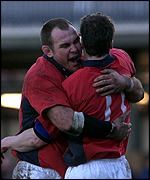 Scott Quinnell and Mark Jones