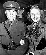 John Mills and his wife