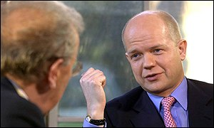 William Hague interviewed by David Frost, 14 Jan