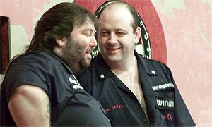 Andy Fordham and Ted Hankey