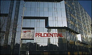 Prudential's head office, Euston, London