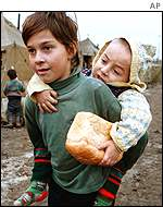 Chechen refugee camp