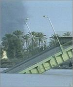 Bridge destroyed in Baghdad
