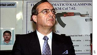 Former security chief Vladimiro Montesinos