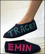Tracey Emin's slippers