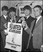 Jeffrey Archer with the Beatles