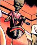 Mekon from the Dan Dare comics