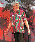 Rolf Harris and art creation