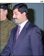 Qusay, one of Saddam's sons