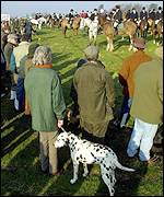 Hunt meet in Suffolk