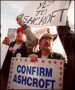 Ashcroft supporters