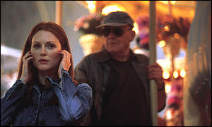 Julianne Moore and Sir Anthony Hopkins in Hannibal