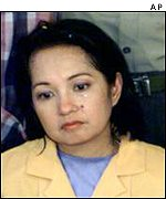 Gloria Arroyo, president of the Philippines