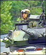 troops in Kosovo
