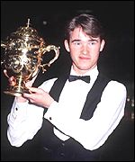 Six-times winner Stephen Hendry