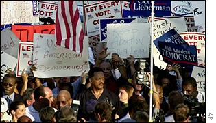 A previous protest by black votersby Jesse Jackson