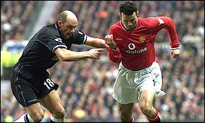 Ryan Giggs and Steve Stone