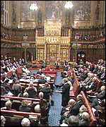 Debate at the House of Lords BBC