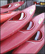 Lyme Bay canoes