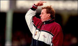 West Ham manager Harry Redknapp