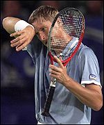 Yevgeny Kafelnikov has featured in the final for the past two years