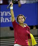 Lindsay Davenport is unfazed by her success