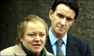 Mo Mowlam and Peter Mandelson