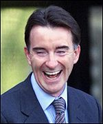 Peter Mandelson had been one of the government's most sucessful MPs