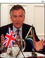 British minster Peter Hain