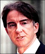 Mr Mandelson says he quit in a moment of personal weakness