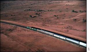 The Ghan, Australia's train to the outback