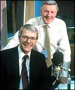 John Major and Jimmy Young