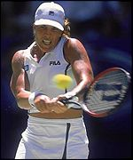Jennifer Capriati at the 2001 Australian Open