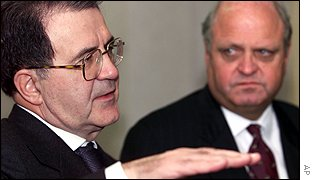 Prodi of the European Commission and Moore of the WTO