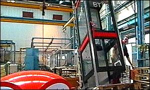 A phone box making factory