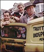 The Trotter Robin Reliant from Only Fools and Horses