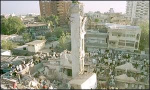 the Gujarati city of Ahmedabad after the earthquake