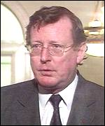 Ulster Unionist leader John Taylor