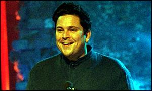 Dom Joly at the BBC Two awards