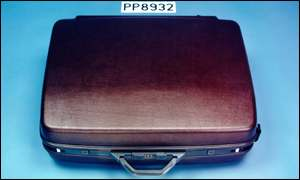 Suitcase resembling one that contained the Lockerbie bomb