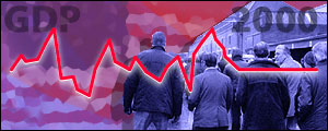 US economic growth fell to 1.4%