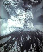 Mt St Helens eruption USGS
