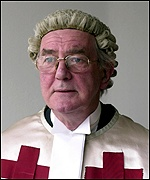 Lord Sutherland, the chief judge at Camp Zeist