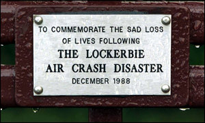 Lockerbie plaque