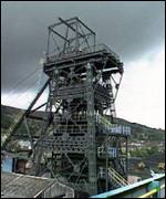 South Wales Valleys coal pit