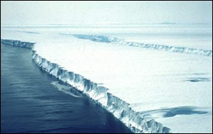 Glacier and sea Kellogg